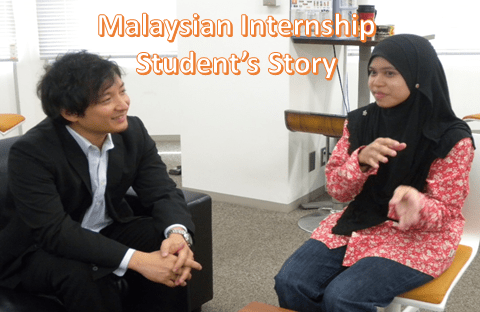 Our 1st Internship student from Malaysia finished her program.