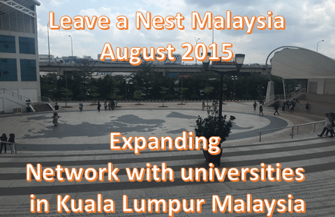 Leave a Nest Malaysia moving forward in 2015