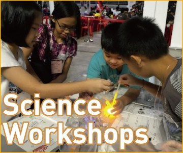 Science Workshops for Malaysian School Students with Leave a Nest in KL and Penang.