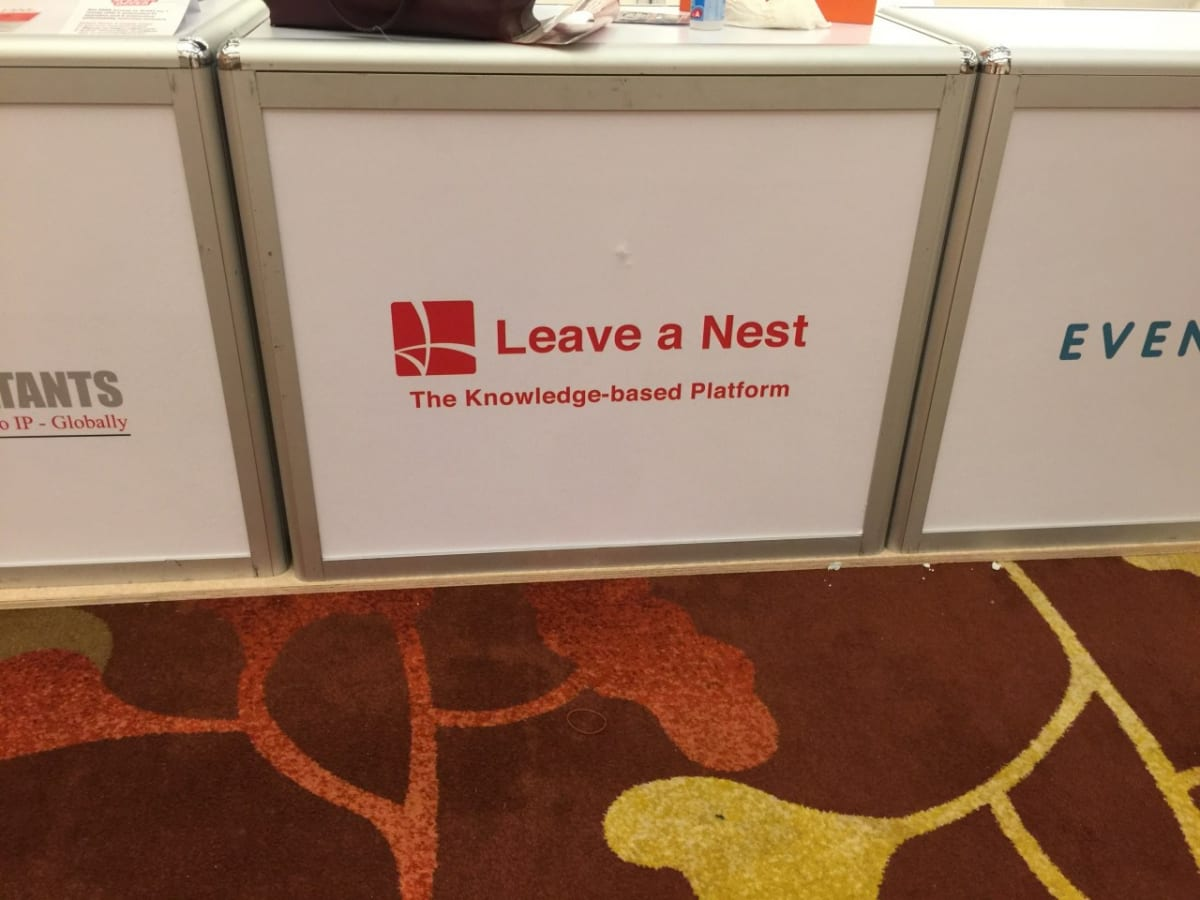 Leave a Nest Group joined InnovFest in Sands Expo & Convention Centre