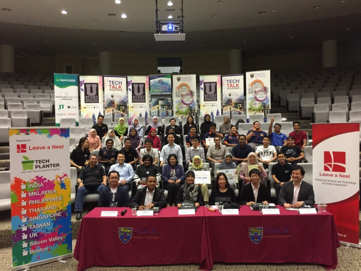 Winner of TECH PLAN DEMO DAY in MALAYSIA 2017 is ACET INNOVATES of UPM