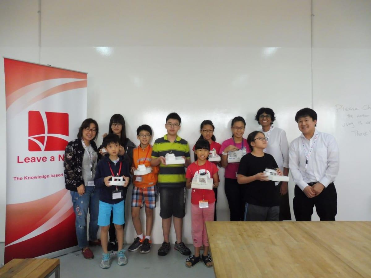 Leave a Nest Singapore concluded 2nd Robotics Trial Workshop before Robotics Lab commences January 2018!