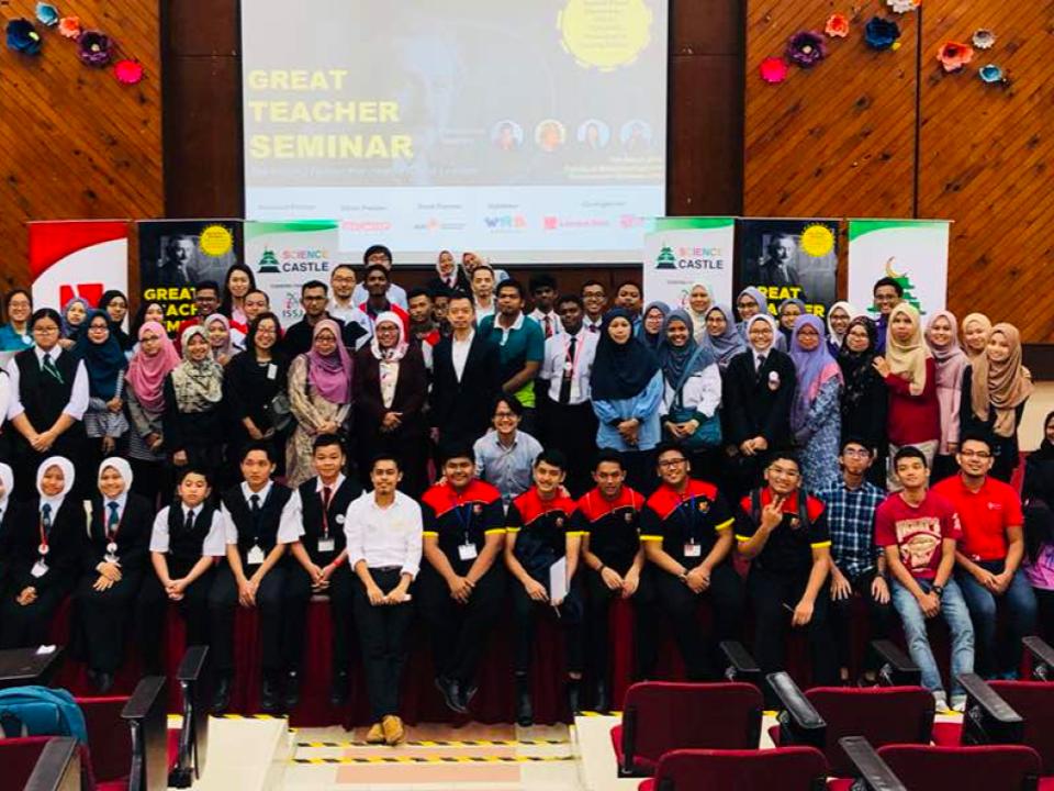 FIRST GREAT TEACHER SEMINAR IN MALAYSIA A SUCCESS!
