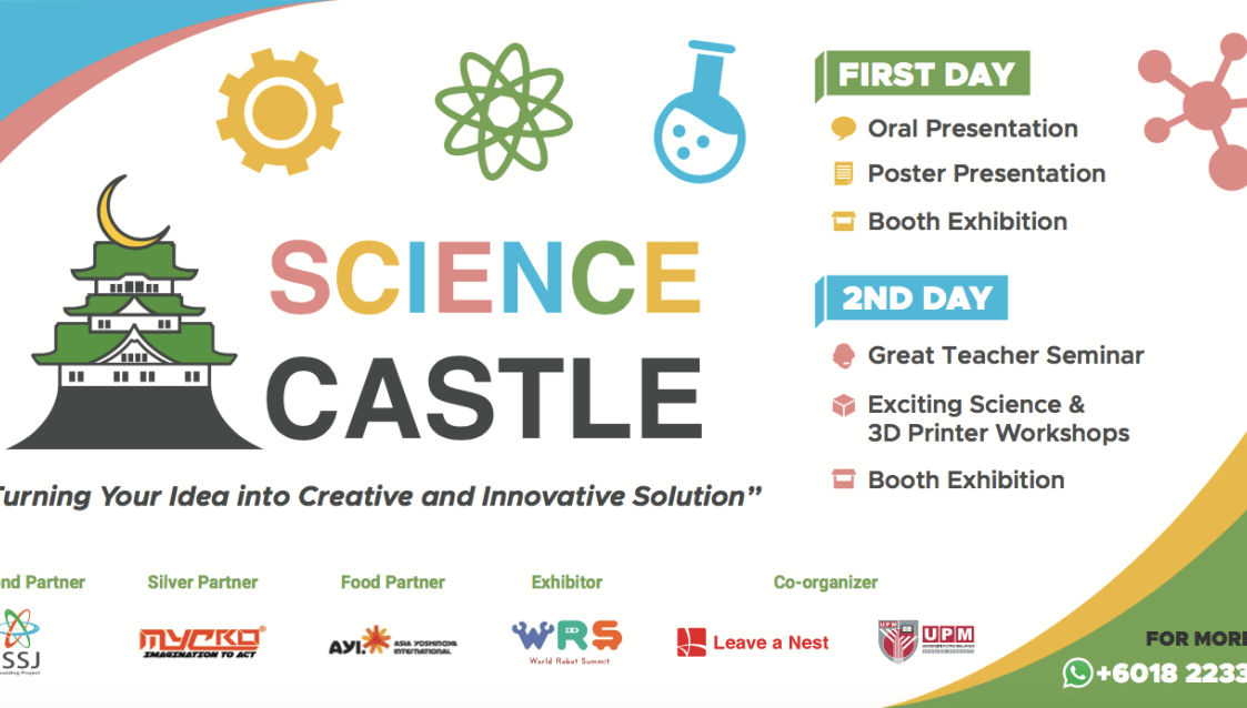 First SCIENCE CASTLE in Malaysia is just around the corner! Meet the judges during the conference.