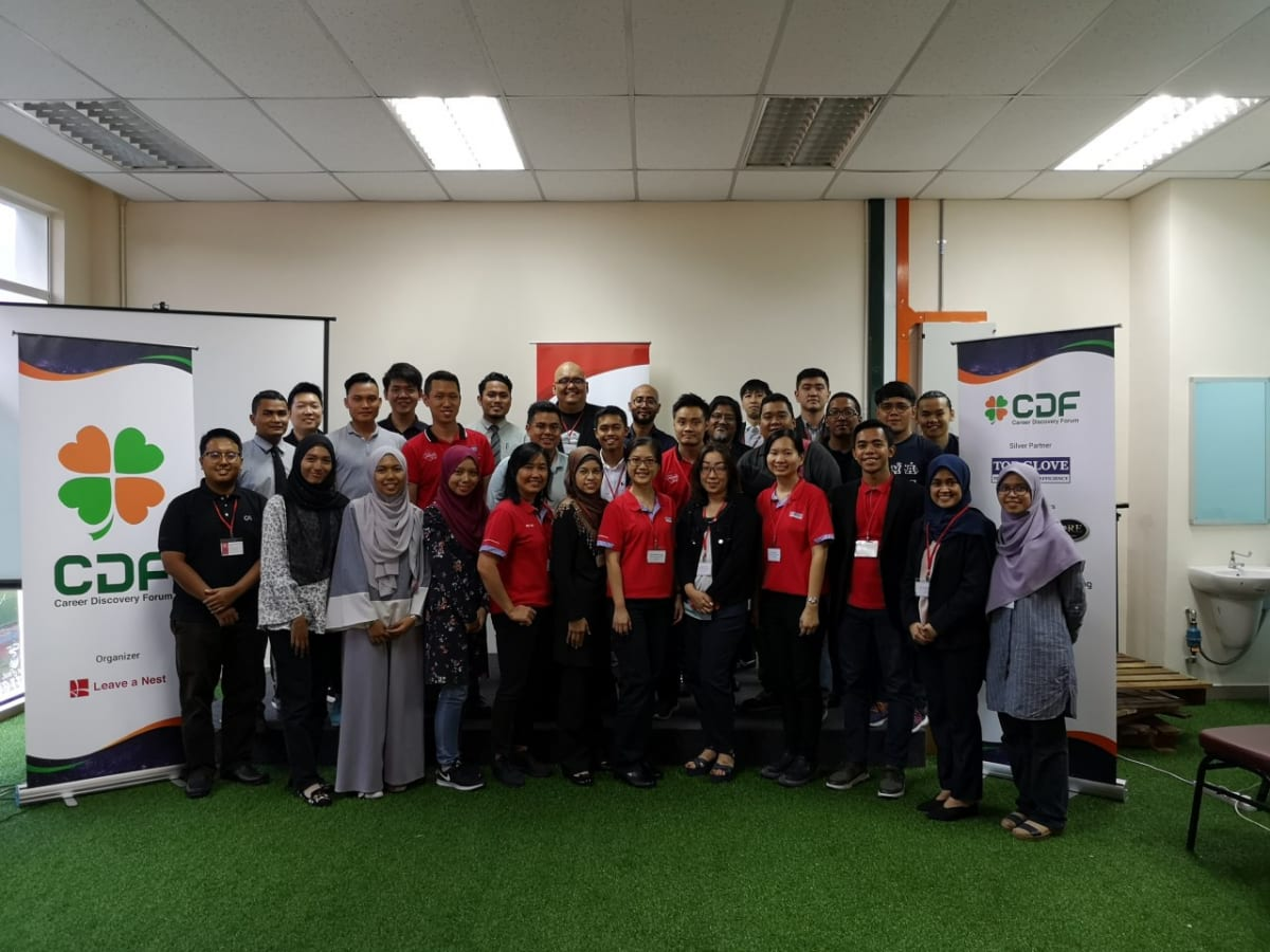 Success at the first Career Discovery Forum in Malaysia!