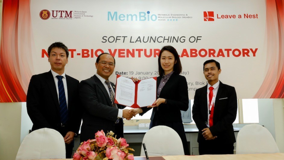 Leave a Nest Malaysia Sdn. Bhd. Announced Its First Biotechnology Laboratory and Incubator in Collaboration with MJIIT, UTM