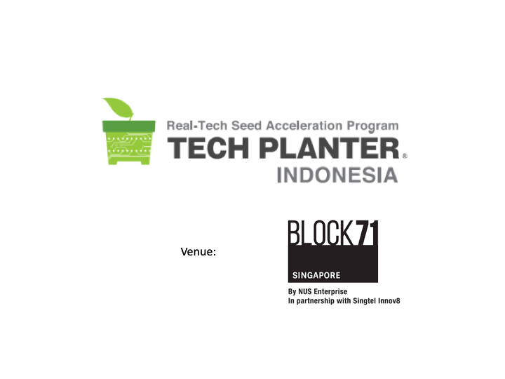 ANNOUNCING THE VENUE OF TECH PLAN DEMO DAY in INDONESIA 2019