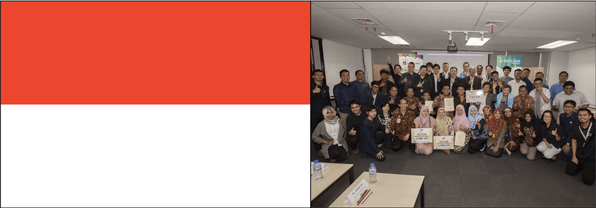Registration closed! 31 entries from 8 universities Applied For TECH PLANTER in  Indonesia  2019