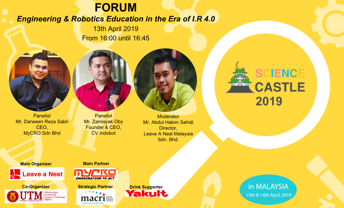 Forum On Engineering & Robotics Education in the Era of I.R 4.0