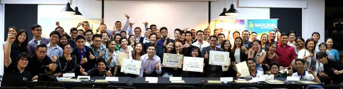 Passionate team nanolabLRC won the Grand Winner award of TECH PLAN DEMO DAY in the PHILIPPINES 2019