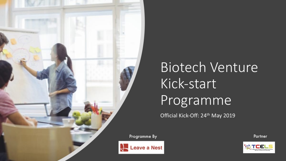 Biotech Venture Kick-start Programme – Join Us!