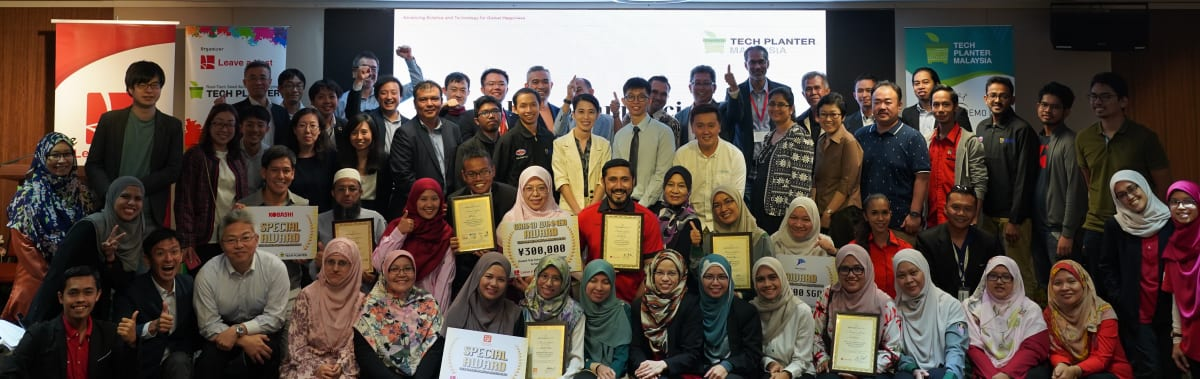 TECH PLAN DEMO DAY in Malaysia 2019 Award Recipients!