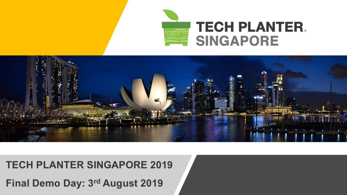 TECH PLAN DEMO DAY in SINGAPORE 2019 is happening next Saturday!