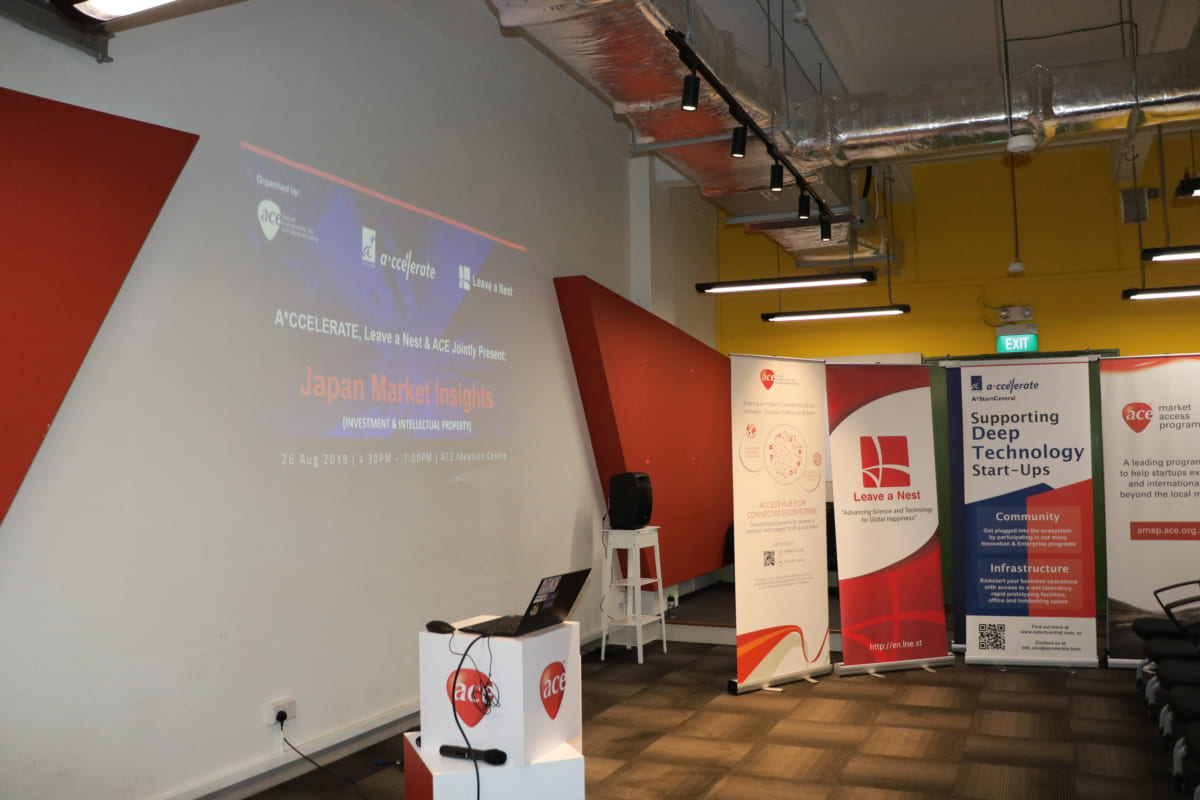 Japan Market Insights 2 – Organized by ACE x A*ccelerate x Leave a Nest Singapore