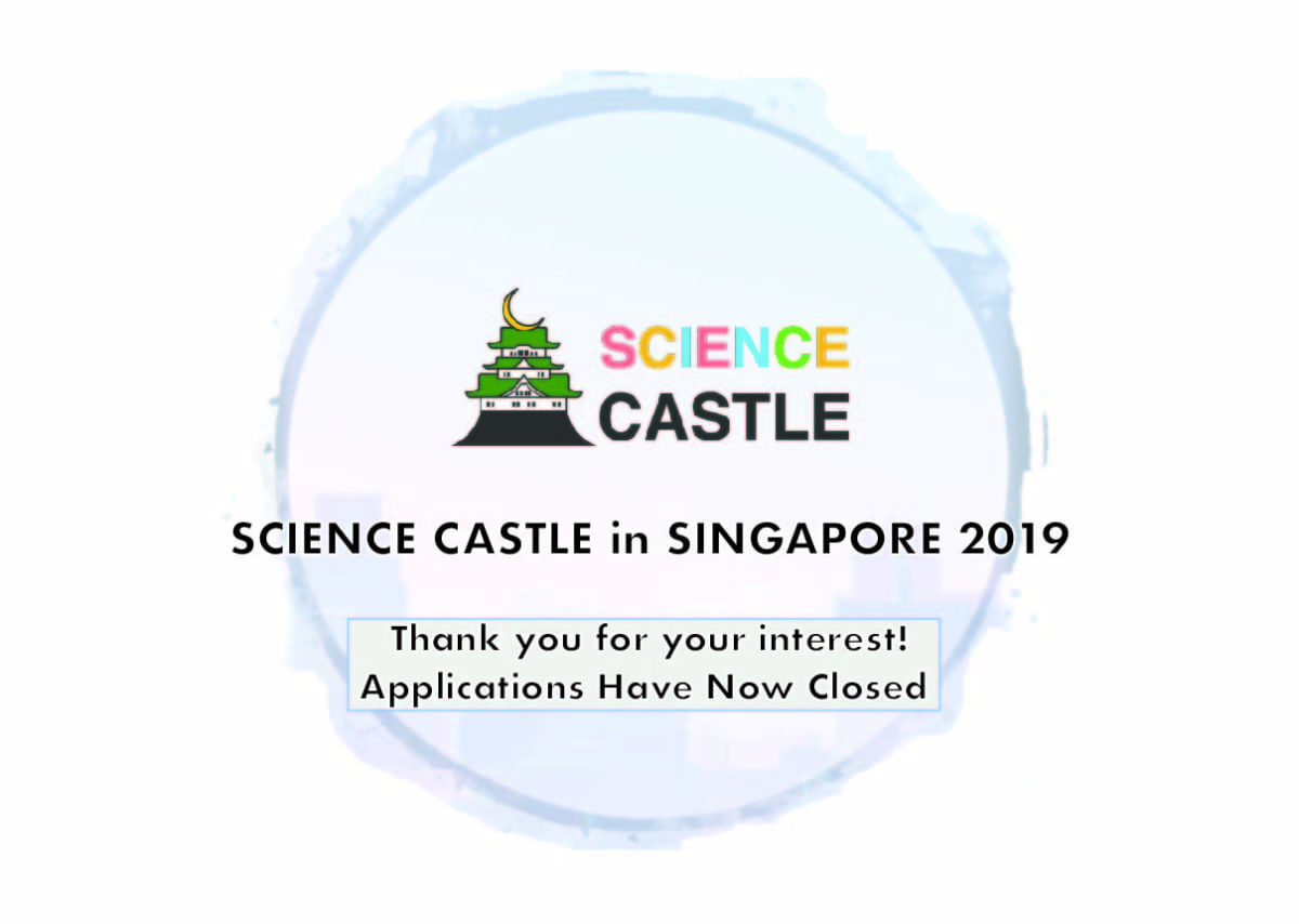 Application Window for Science Castle Has Closed