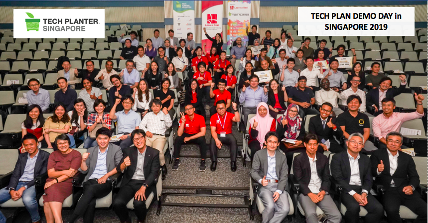 Indonesia Team Tech Prom Lab won the Grand Winner of TECH PLAN DEMO DAY in SINGAPORE 2019