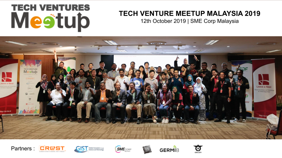 Thank You For Making TECH VENTURE MEETUP Malaysia 2019 a Success!