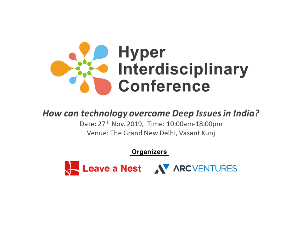 The 1st Hyper interdisciplinary conference in India will be held in Delhi on Nov 27th.