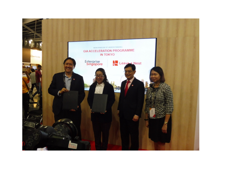 Leave A Nest Singapore x Enterprise Singapore – Successfully signed MOU under GIA acceleration program
