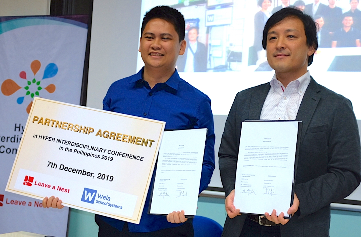 Leave a Nest announces investment and partnership with Mindanao-based edu-tech startup Wela Online Corp.