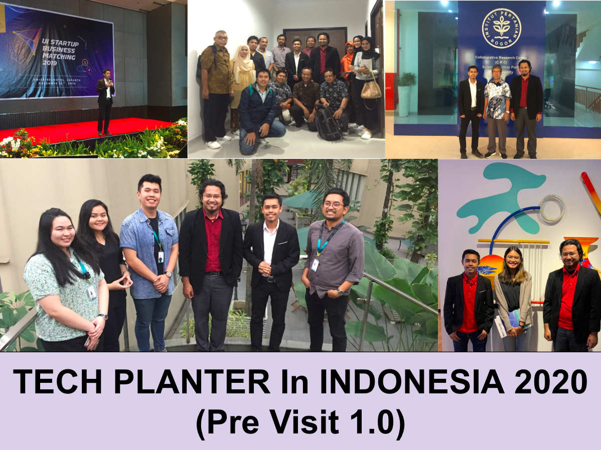 Thank You Indonesia for TECH PLANTER Pre Visit 1. See you again on 18th-20th March 2020 !