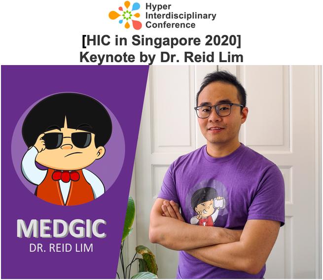 [HIC in Singapore 2020] Keynote by Dr. Reid Lim