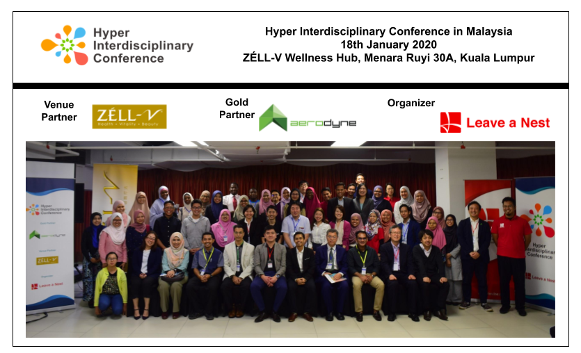 Thank You for Making the Second Hyper Interdisciplinary Conference in Malaysia 2020 a Success!