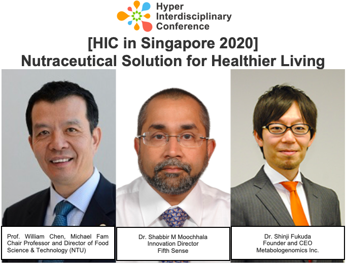 [HIC in Singapore 2020] Nutraceutical Solution for Healthier Living