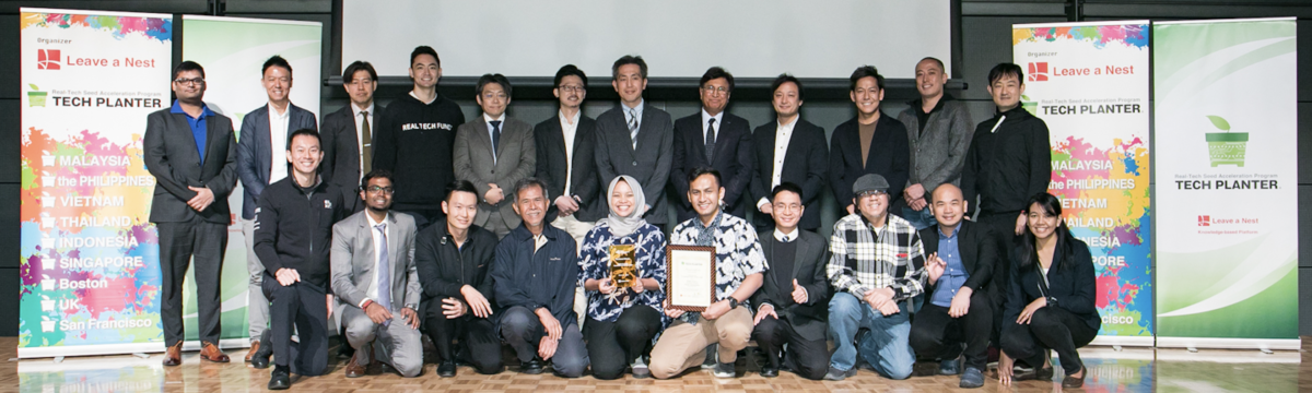 Tech Prom Lab from Indonesia is the winner of  TECH PLANTER World Communication 2020!