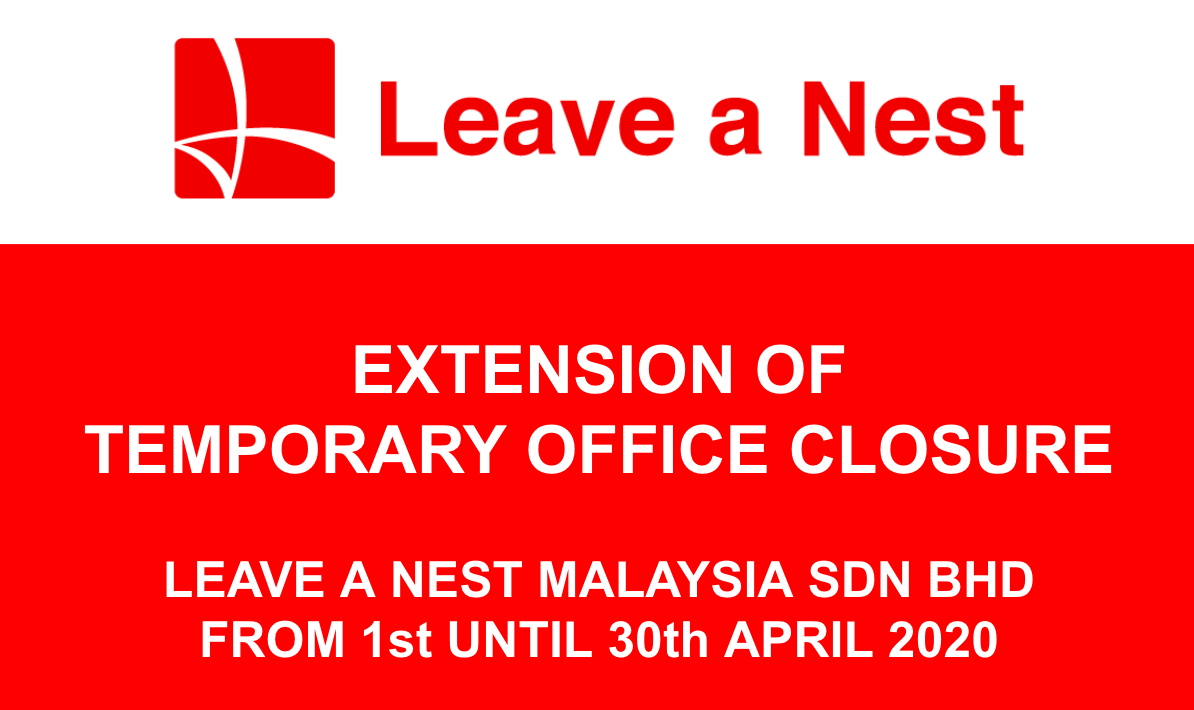 Extension of Temporary Office Closure