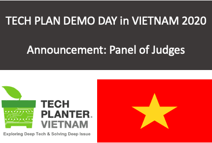 TECH PLAN DEMO DAY in VIETNAM 2020 Judges Announcement