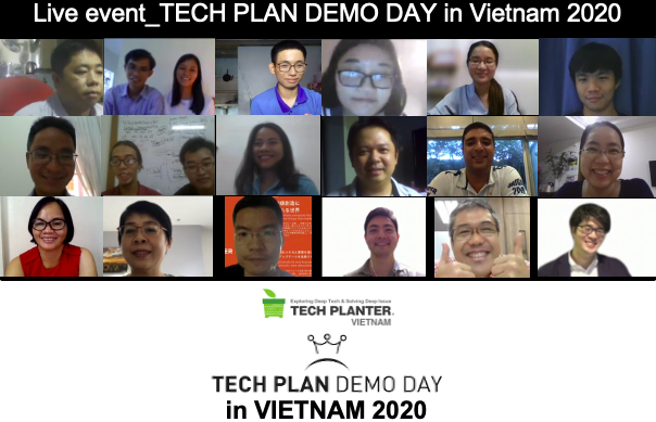 Biomass Lab Crowned as the Grand Winner of TECH PLAN DEMO DAY in VIETNAM 2020