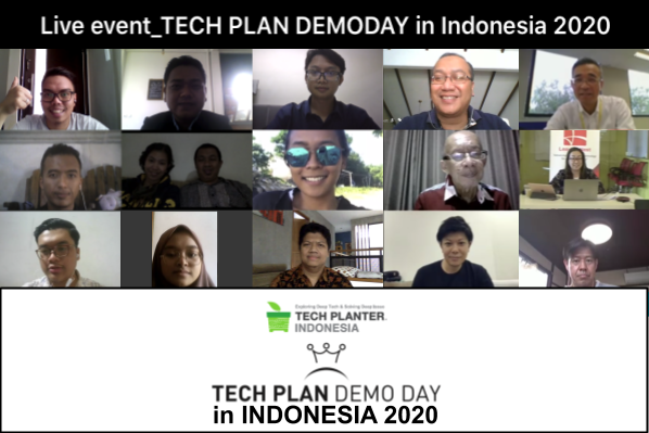 GreenWell Indonesia Crowned as the Grand Winner of TECH PLAN DEMO DAY in INDONESIA 2020