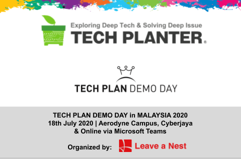 TECH PLAN DEMO DAY in MALAYSIA 2020 is Happening This Weekend