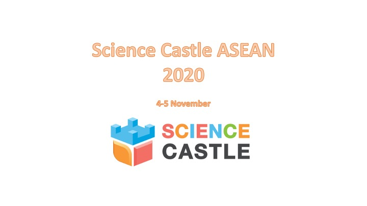 Science Castle ASEAN 2020 happening online on 4-5 November