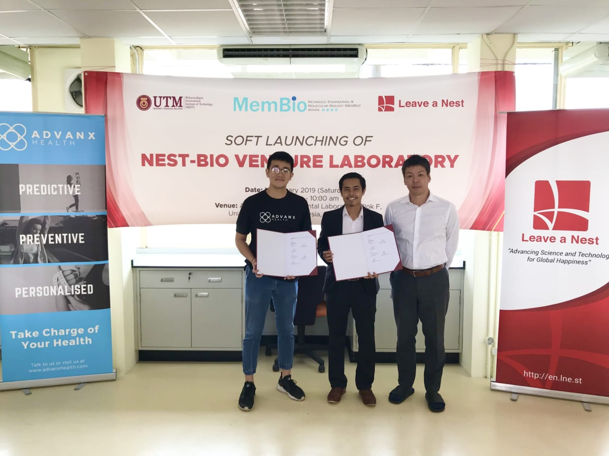 Welcome Advanx Health! The First Malaysian Biotech Startup To Join Nest-Bio Venture Lab