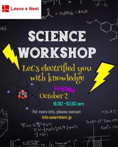 New Science Workshop on Electrostatic!