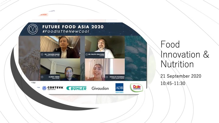 Food Innovation and Nutrition session ended but the journey starts from here.