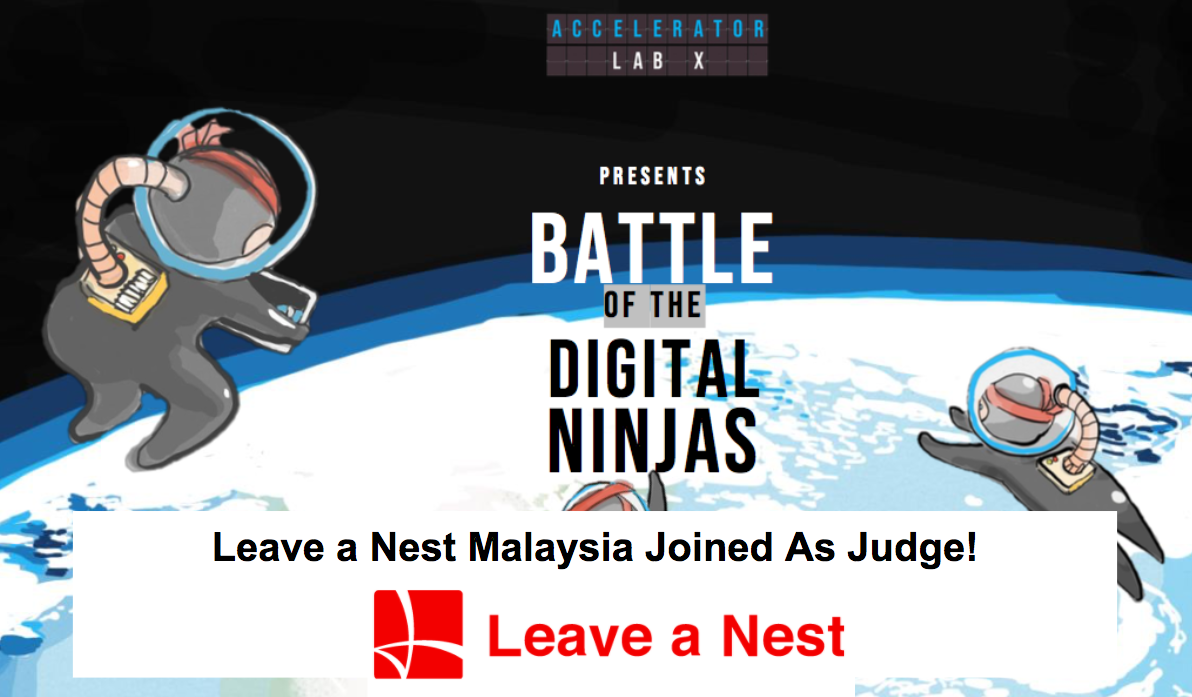Leave a Nest Malaysia Joined as Judge in Semi-Final Round of Battle of The Digital Ninjas 2020