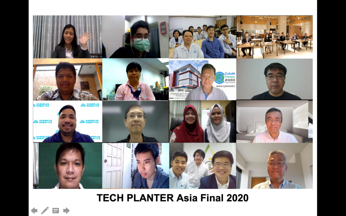 Grand winner for inaugural TECH PLANTER ASIA FINAL 2020 was awarded to iRadar from Malaysia.