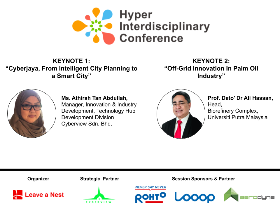 Hyper-Interdisciplinary Conference in Malaysia 2021: Announcing Keynote Speakers