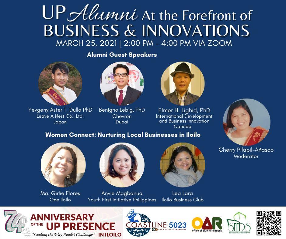 Dr. Yev Dulla is speaker for UP-Visayas online event