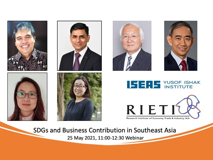 Dr. Kihoko Tokue will be joining ISEAS-REITI joint webinar on 25th May 2021