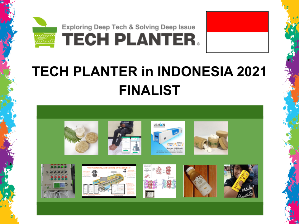 Announcement of 9 Finalists for TECH PLAN DEMO DAY in Indonesia 2021