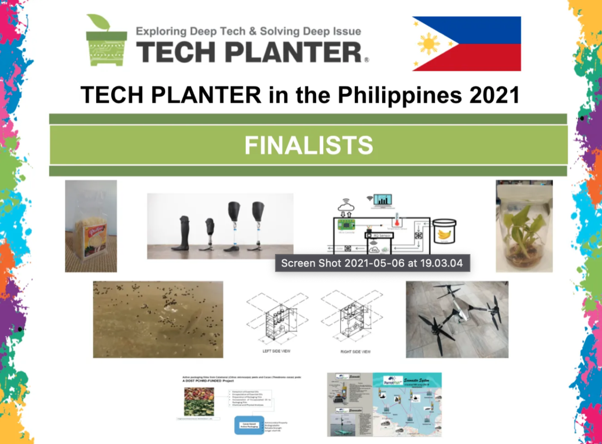 Announcement of 9 Finalists for TECH PLAN DEMO DAY in the PHILIPPINES 2021
