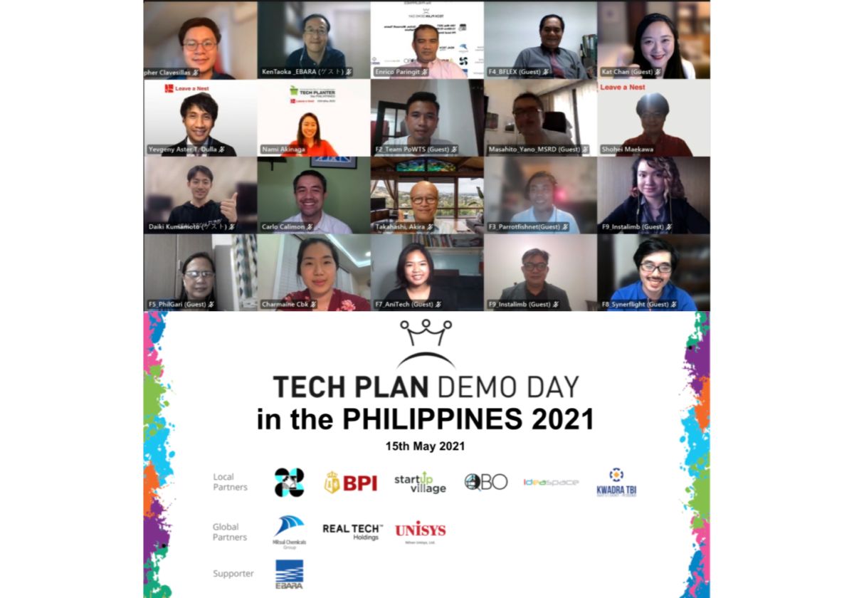 Anihan Technologies is the Grand Winner of TECH PLAN DEMO DAY in the PHILIPPINES 2021
