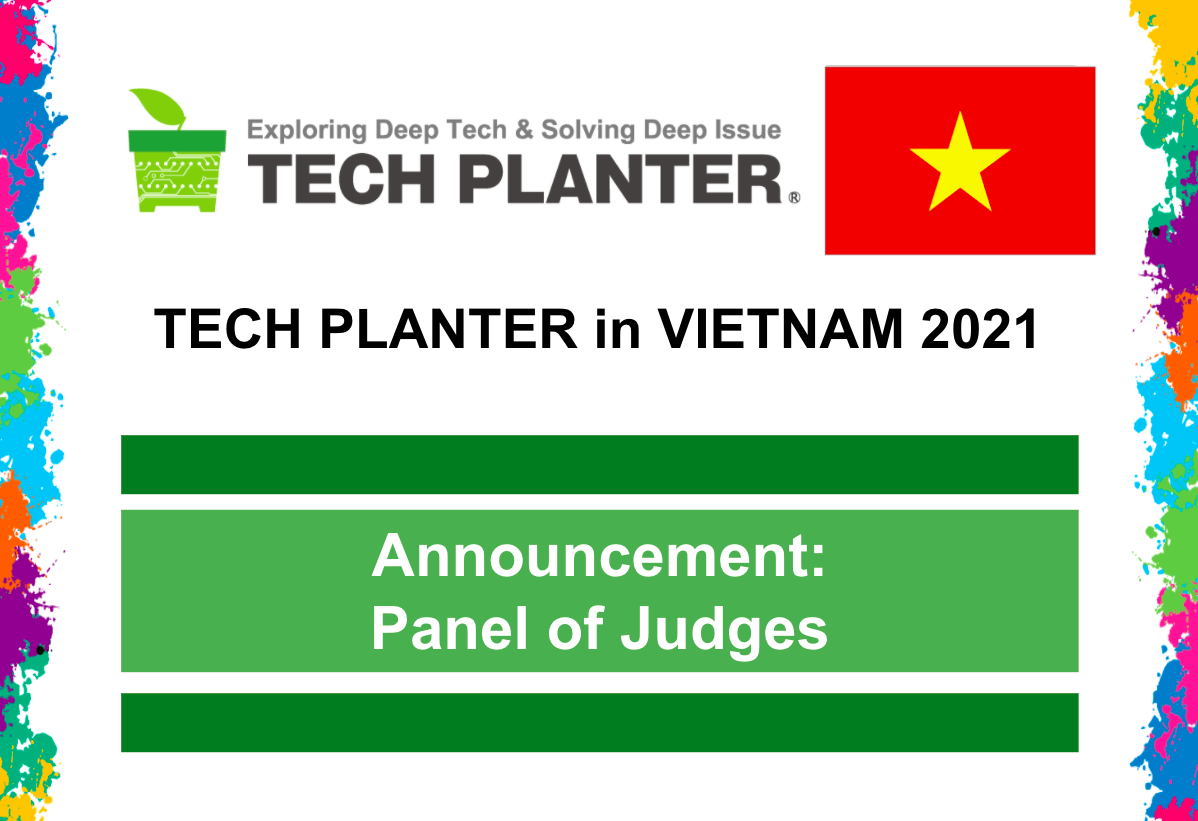 TECH PLAN DEMO DAY in Vietnam 2021 Judges Announcement