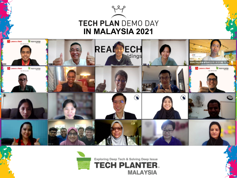 Qarbotech Crowned as the Grand Winner of TECH PLAN DEMO DAY in MALAYSIA 2021