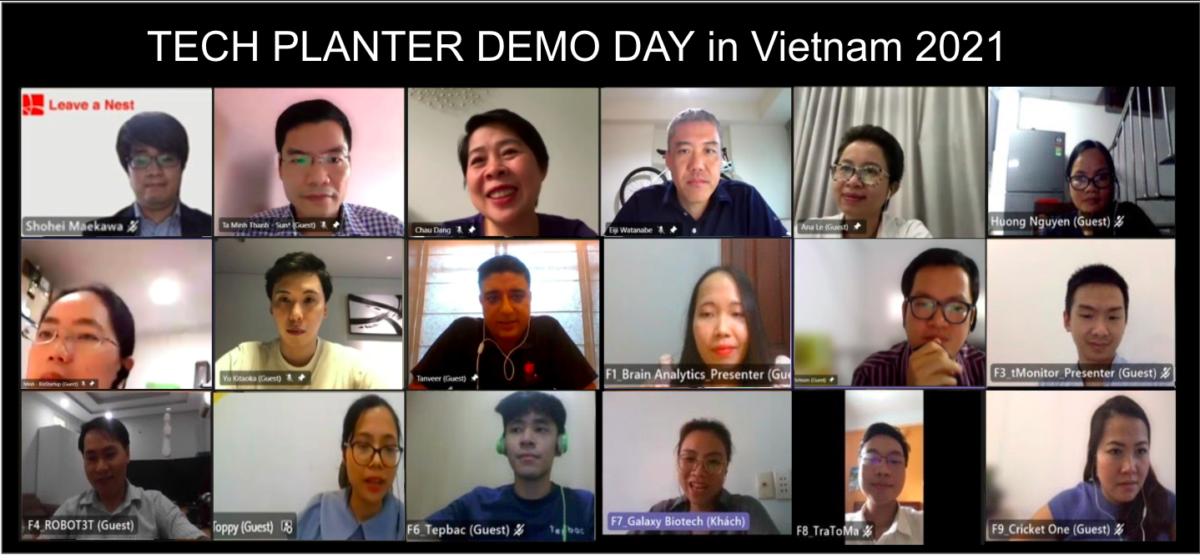 Tep Bac Company Ltd is the Grand Winner of TECH PLAN DEMO DAY in Vietnam 2021