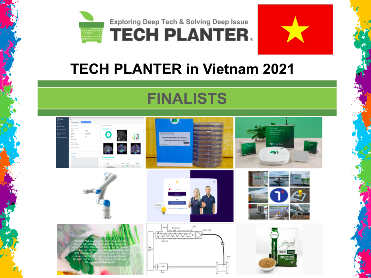 Announcement of 9 Finalists for TECH PLAN DEMO DAY in Vietnam 2021